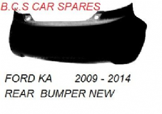 FORD  KA  REAR    BUMPER  2009 - 2010 - 2011 - 2012 - 2013   ( INSURANCE APPROVED IN PRIMER )